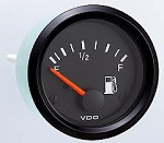 VDO fuel gauge, uses OEM sender 221 012