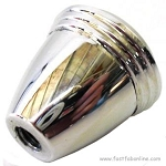 Dash Knob, Polished Aluminum