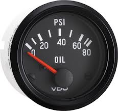 VDO Electric oil pressure 80 PSI