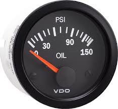 VDO Electric oil pressure 150 psi